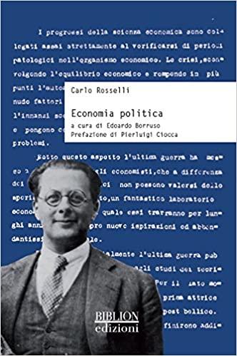 Economia Politica - Carlo Rosselli